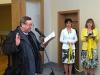 Slavnostní otevření Nové sokolovny s knihovnou ve Slušovicích 28.11.2012